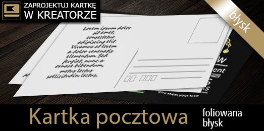 kreator kartek pocztowych