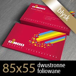 wizytówki dwustronne 85x55